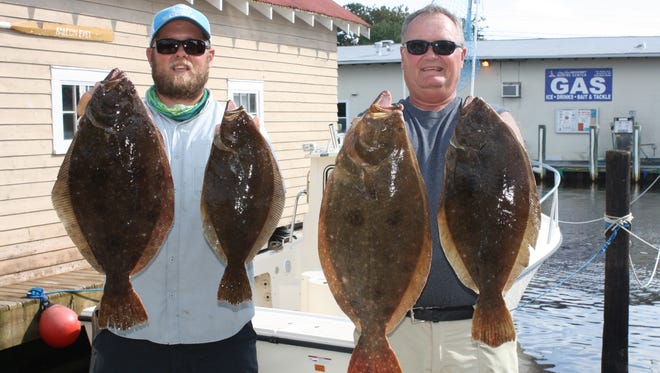 """If you're fishing in the Delaware Bay, there will be a fourfish limit at 17"""" for 2016."""