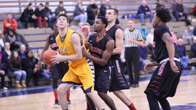 Trevor Holston, a graduate of Aremada High School, has finished his sophomore season playing basketball for Siena Heights University in Adrian.