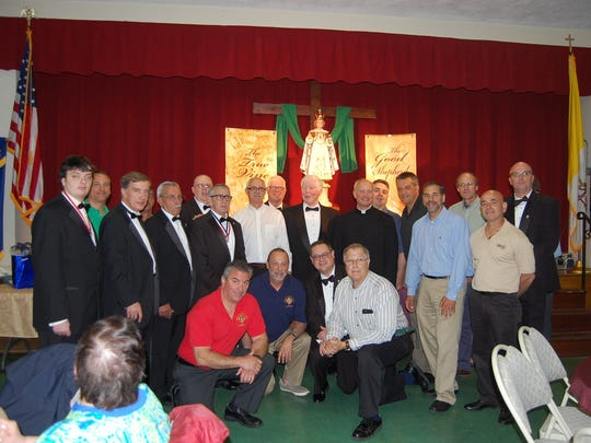 Msgr. Joseph F. Loreti Council #3240 of the Knights of Columbus, which is sponsoring Grasso's pilgrimage.