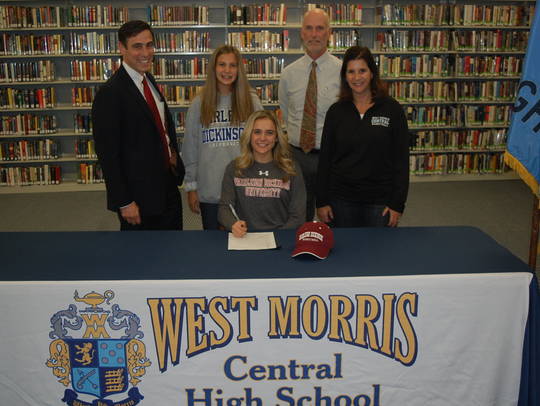 West Morris senior Maddie Selvaggi signed a National