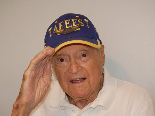 Retired Captain George W. Starks, now 94.