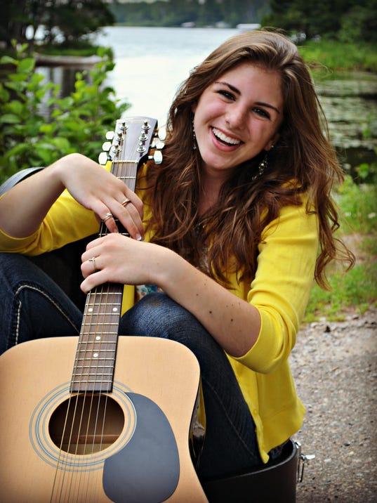 Hannah Anklam With Guitar