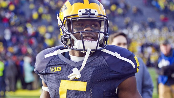 Jabrill Peppers is listed as a linebacker to start this year. The Big Ten preseason defensive player of the year played 10 different spots in 2015.