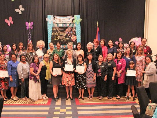 The Guam Council of Women's Clubs celebrated their