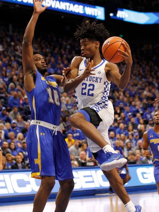 NCAA Basketball: Preseason-Morehead State at Kentucky