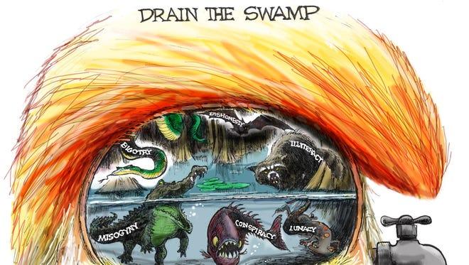 Cartoon for Oct. 28, 2016.