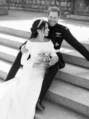 The couple also shared a more casual black-and-white