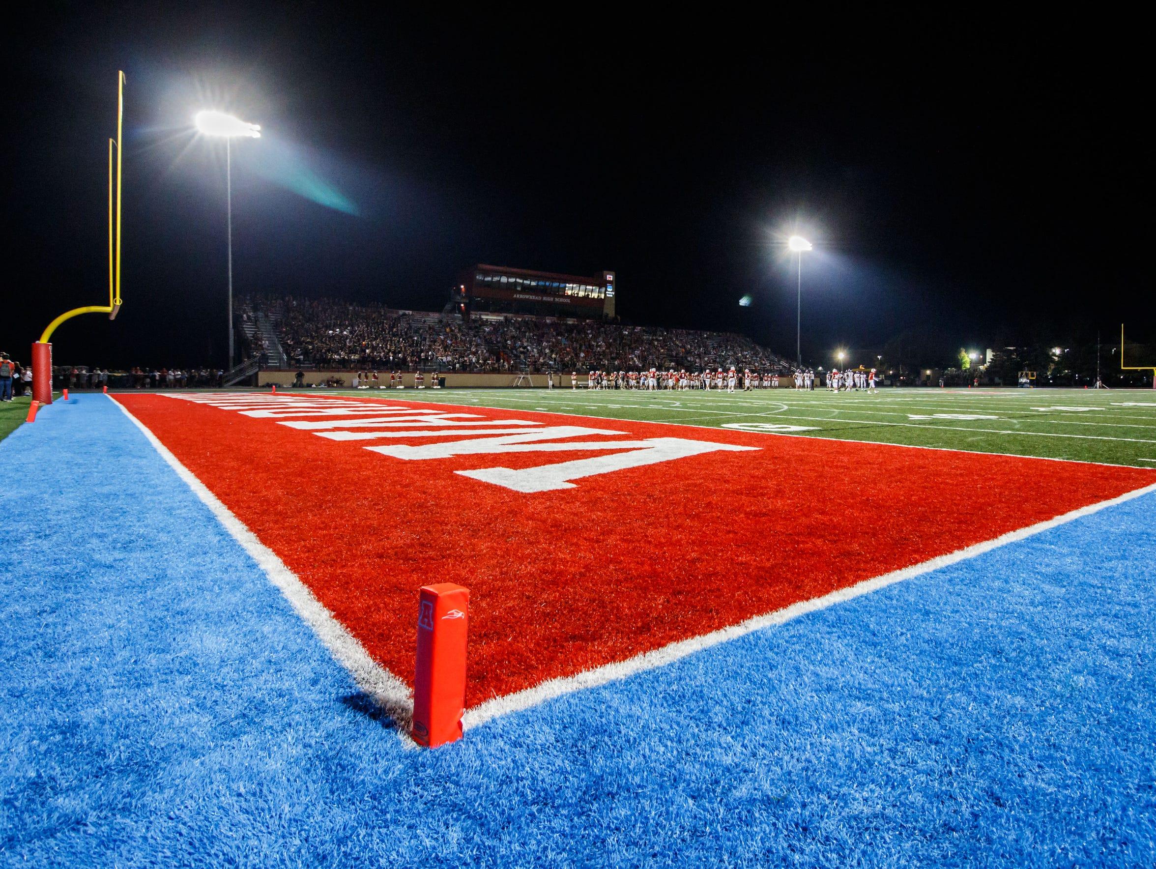 Arrowhead High School's Pfeiffer Field at Taraska Stadium