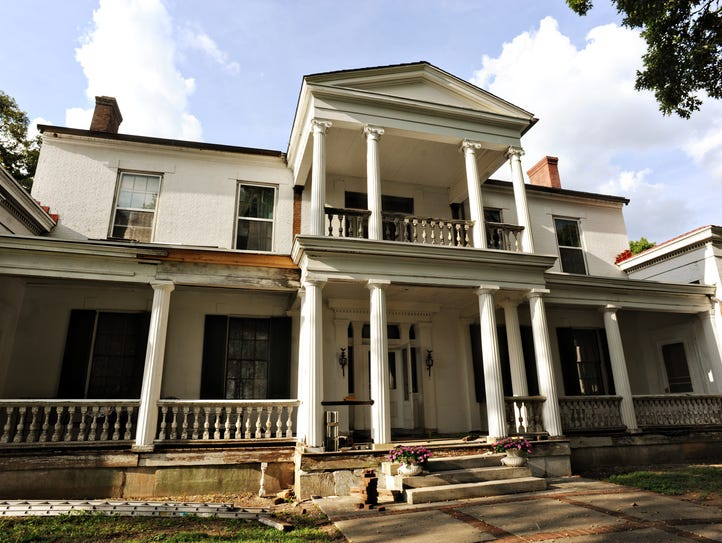 The Belair Mansion in Donelson is one of the city's