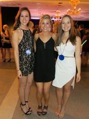 Liz Molloy, Maggie Snell, Bryce Hayden at Cotillion's