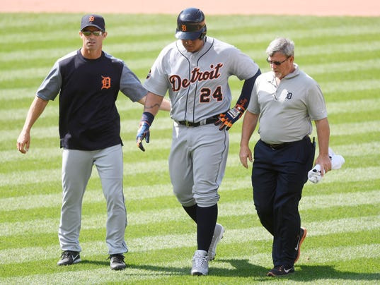 Image result for miguel cabrera injury