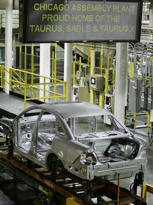 Economy,  Assembly Line,  Car, Auto, Durable Goods