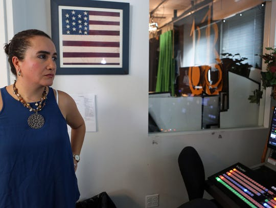 Mamaroneck resident Astrid Rivera began the citizenship
