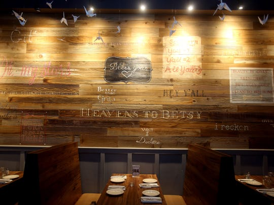 A section of the dining room at Freebird Kitchen and Bar in White Plains.