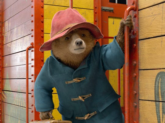 The beloved Peruvian bear (voiced by Ben Whishaw) goes
