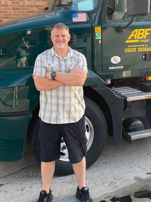 Josh Elmore, an ABF Freight driver out of North Carolina, was recently named a Truckload Carriers Association Highway Angel for stopping to help a driver after his vehicle collided with a dump truck.