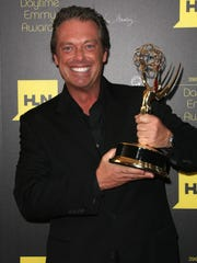 Game show host Todd Newton at Daytime Emmy Awards in