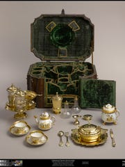 Breakfast Set, ca, 1728-29 Johann Erhard Heuglin II and other artists; Meissen Porcelain Manufactory Sterling and Francine Clark Art Institute, Williamstown, MA.