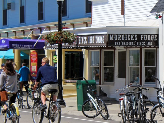 Murdick's was the first fudge shop on Mackinac Island