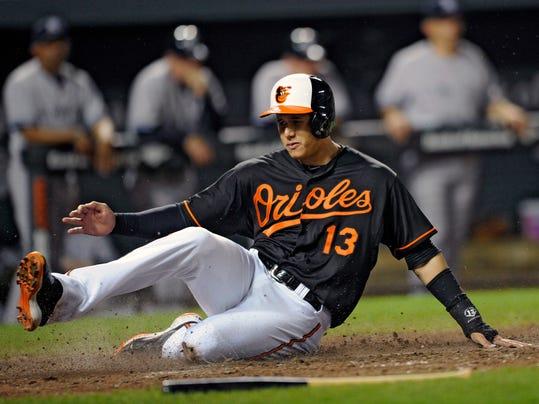 Yankees Orioles Baseball (4)