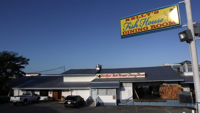 Kelly's Fish House Dining Room is at 1302 Fifth Ave. S., just south of the Gordon River Bridge.