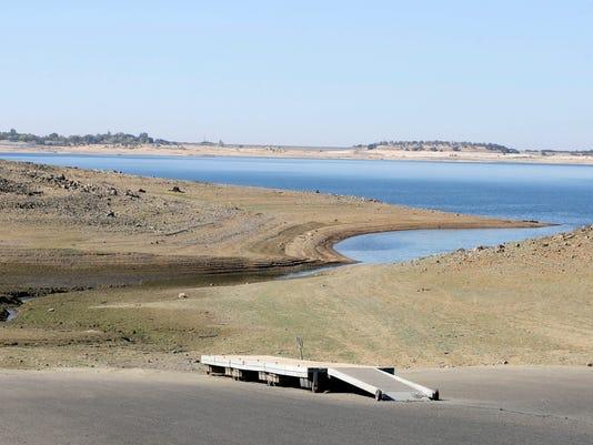 California Drought Warming