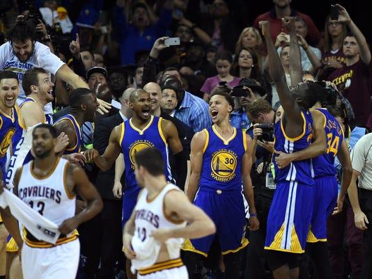 BASKET-NBA-FINALS-WARRIORS-CAVALIERS
