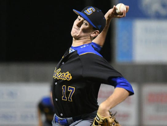 Sumrall junior Payne Phillips pitched the Bobcats to