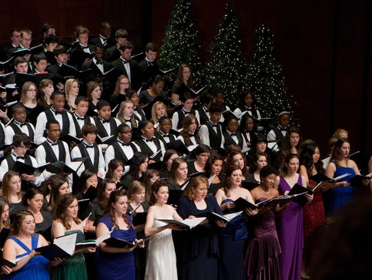 UC's Feast of Carols features hundreds of performers