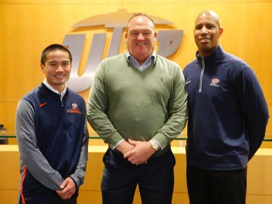 UTEP head coach Dana Dimel introduced three new additions