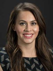 Dr. Amanda Provencio appears in a graduation photo from the spring of 2018, when she completed her studies at the University of New Mexico School of Medicine.