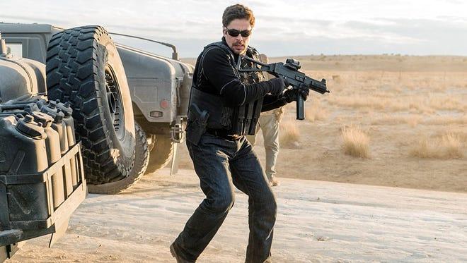 """Benicio Del Toro in """"Sicario: Day of the Soldado."""""""