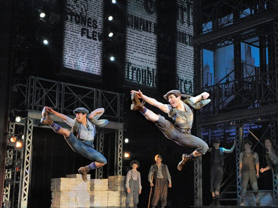 """Newsies,"" which had its debut at Paper Mill Playhouse"