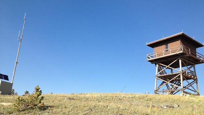 The Granite Butte Lookout is the only lookout directly on the Continental Divide.