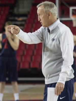 Rick Byrd said his Belmont team is still happy to be playing, even if it is in the NIT.