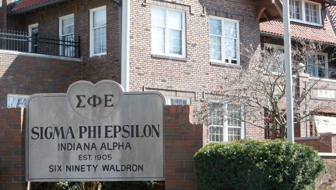 The Purdue chapter house of Sigma Phi Epsilon.
