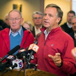Haslam seeks federal aid for Sevier wildfire victims