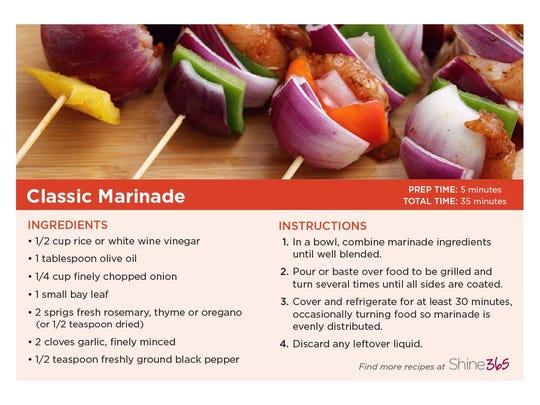 Classic Marinade recipe