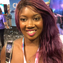 The Florida based travel vlogger who calls herself Niajae, photographed at the VidCon convention in Anaheim, California.