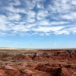 The Painted Desert occupies the northern portion of Petrified Forest National Park.