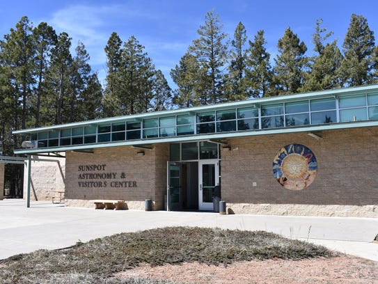 The Sunspot and Astronomy Visitor's Center is where