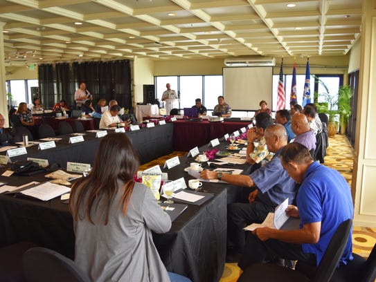 Municipal leaders of the Mariana Islands convene during