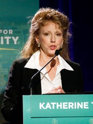 Katherine Tate is one of six GOP candidates in the