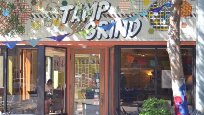 """Tamp & Grind coffee shop was the """"turning point"""" in the revitalization of downtown Alexandria, according to one friend who was mourning the shop's late owner, Jeff Phillips."""