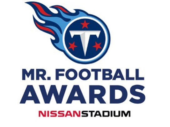 Tennessee Titans Mr. Football Awards logo.