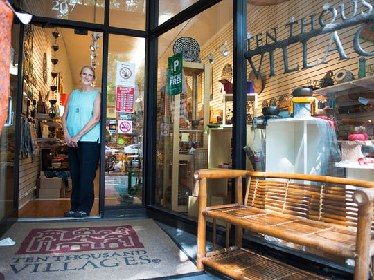 Fleming Markel, founder of the Greenville Ten Thousand Villages store, on Friday, September 16, 2016.