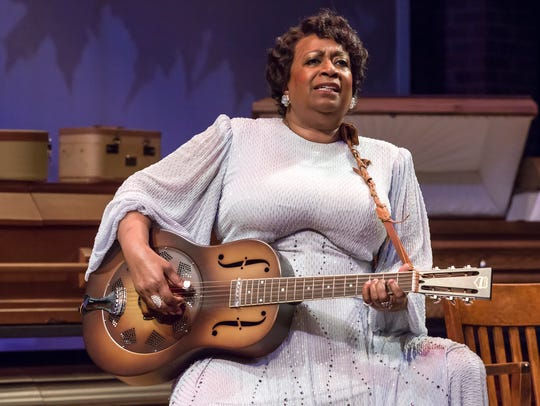 Miche Braden stars as Sister Rosetta Tharpe in the