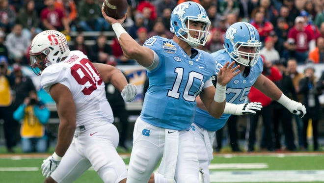 Mitch Trubisky of North Carolina has limited starting experience, but he's still a first-round prospect.