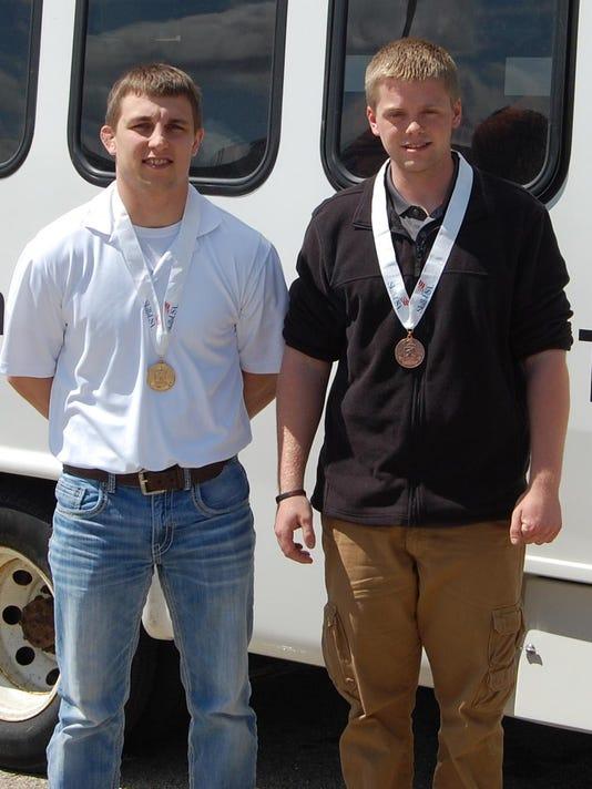 Cody Friemoth and Jordan Esselman