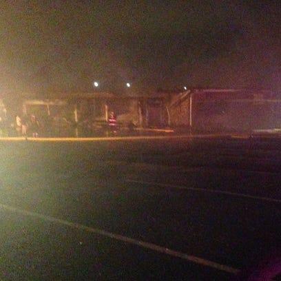 Cornerstone Market Fire.